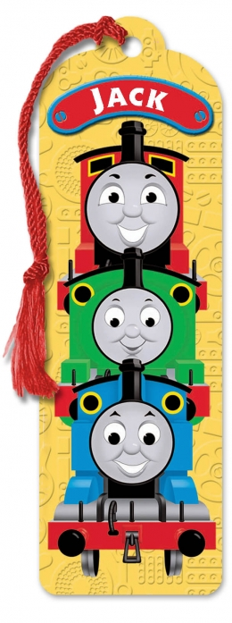 Personalised Thomas Book Mark L - W